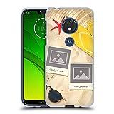 Head Case Designs Coutume Personnalisé Plage Montage Coque en Gel Doux Compatible avec Motorola...