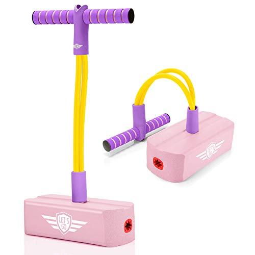 Kimy Geschenke Mädchen 4 5 6 7 8 9 Jahre, Spielzeug ab 3-12 Jahren für Mädchen Pogo Stick für Kinder ab...
