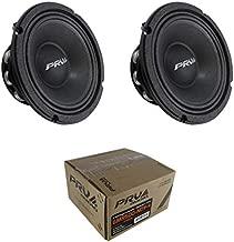 2X 6.5 PRV Audio 6MR500-NDY-4 Neodymium Mid Range 4 Ohm 1000W Car Audio Speaker