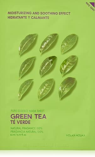 Mascarilla Calmante 20 ml - Ampoule Mask Sheet - Green Tea - Holika Holika