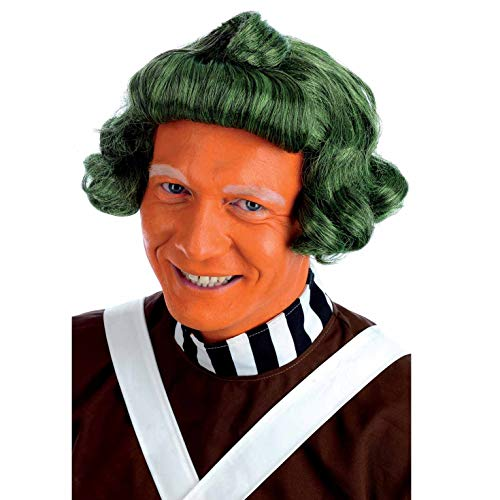 Fun Shack Perruque Oompa Loompa Verte pour Homme