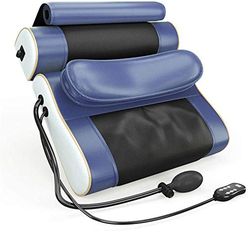 Massagekissen Shiatsu Massagegeräte für Nacken Schulter nach hinten, elektrische AnsatzMassager mit Hitze-Funktion und rotierende Massageköpfe für Muskelschmerzlinderung