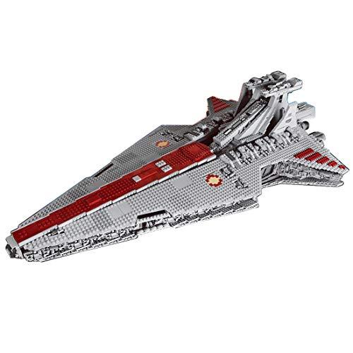 Fujinfeng Star Raumschiff Bausteine, 6685 Klemmbausteine Wars Ship Bauset, Sci-Fi Weltraumfahrzeuge Space Cruiser Kompatibel mit Lego