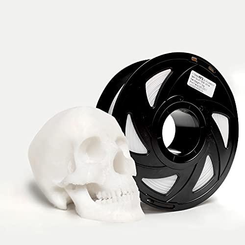 Filamento PETG blanco, 1,75 mm Carrete de 1 kg, Filamento 3D PETG...