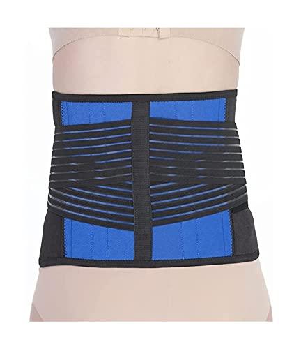 GDYJP S-6XL. Untere lumbal Rückenstützenstützgürtel für Männer u. Frauen - Untere Rückenschmerzlinderung Massageband für Bandscheiben-Skiatika und Skoliose (Color : 5XL)
