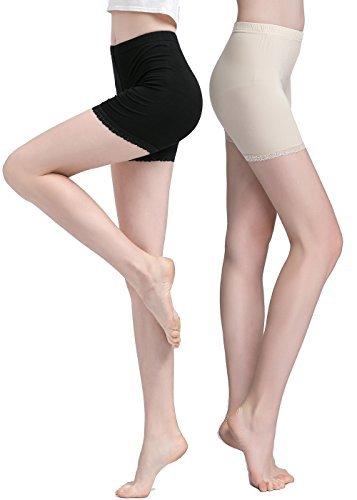 Vinconie Leggings Cortos Mujer Pantalon Bajo Vestido Pantalones Verano Mujer Algodon