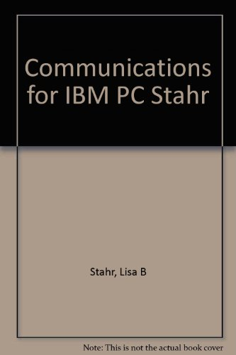 Communications for IBM personal computers and compatibles (PC world books)