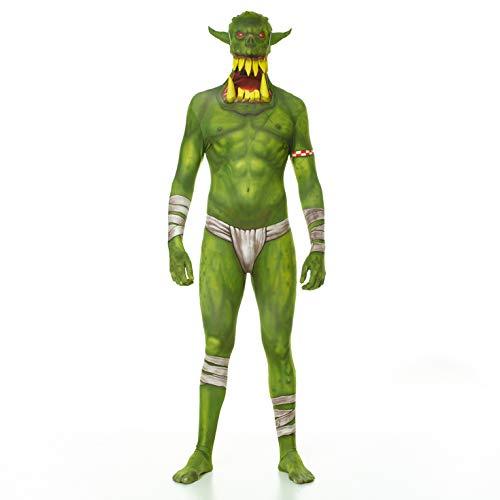 Morphsuits - Vert Orc Jaw Dropper Pour Hauteur 165-180 cm - Taille L MLORGL
