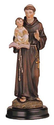 """George S. Chen Las importaciones ss-g-205.09San Antonio Santa Figura Religiosa decoración Estatua decoración, 5"""""""