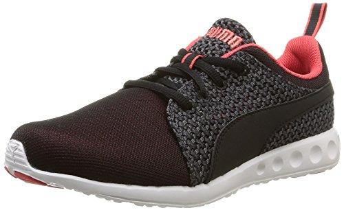Puma Puma Herren Carson Runner Knit Wn's Laufschuhe, Rot (cayenne-black 03), 37