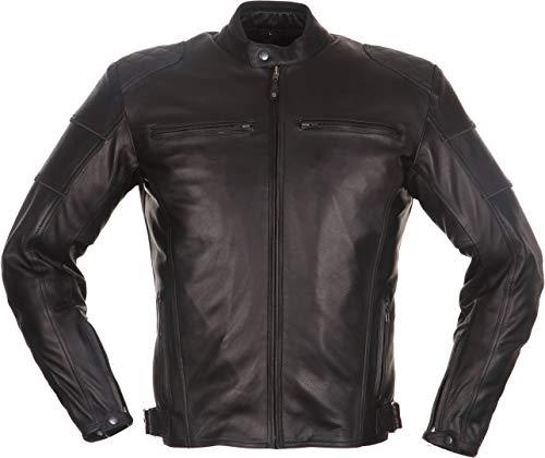 Modeka Ruven Lederjacke Motorradjacke schwarz