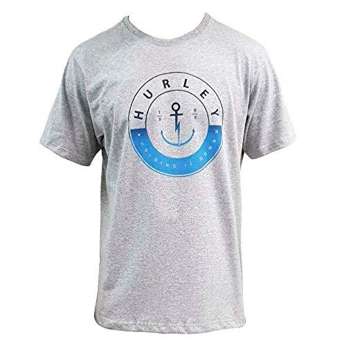 Camiseta Hurley Silk Hold Down Cinza P