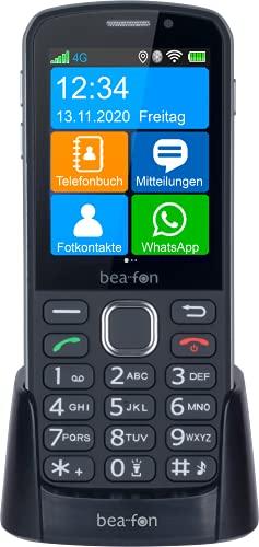 Beafon SL860touch Hyprid-Barrenhandy (Touch und Taste) | eine neue Hybridgeneration die es so noch nicht gab!, schwarz, SL860_EU001B