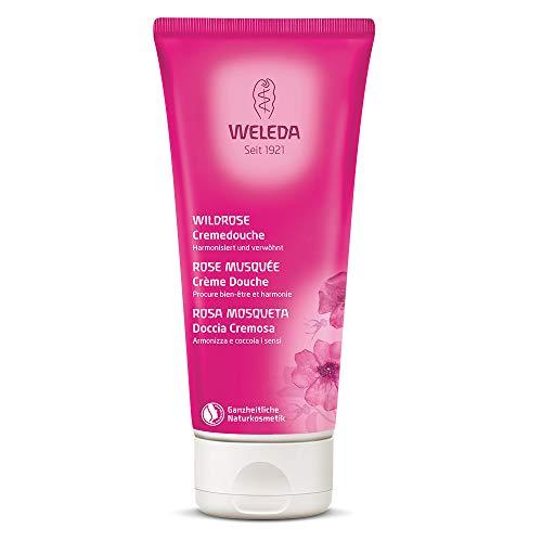 Cremoso Body Wash Weleda Wild Rose, 1er Pack (1 x 200 ml)