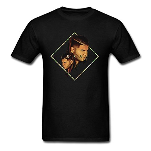Comfortable Clearance Sales Farruko Logo Poster Male T-Shirts XX-Large
