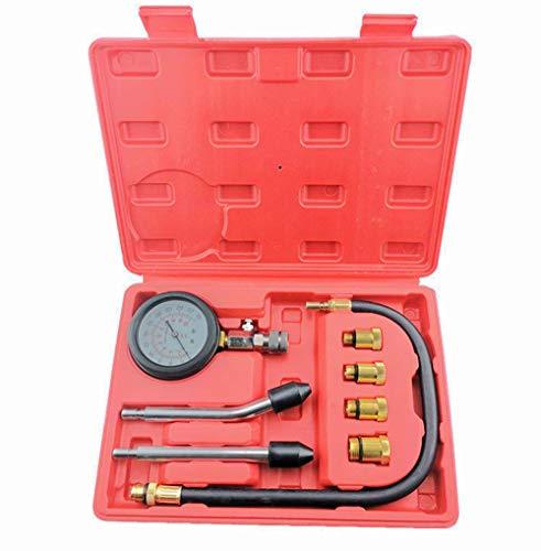 Soontrans Kompressionstester für Benzin Motor, Kompression Prüfer Meßen Werkzeug, 0-20 Bar
