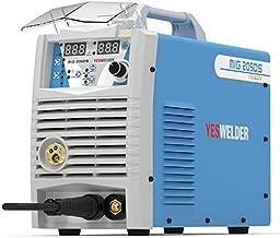 YESWELDER Digital MIG-205DS MIG Welder,200Amp 110/220V Dual Voltage, Gas Gasless MIG Welding Machine MIG/Lift TIG/ARC 3 in 1 Welder