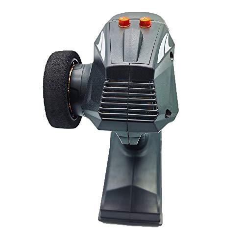 ACHICOO Sender Empfänger, X6 2.4G 6CH Sender mit X6FG Empfänger für Q65 MN-90 Auto Boot Tank Modellteile Modifiziertes Modell Spielzeug X6F Fernbedienung + Gyroskop