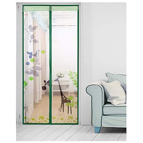 Sommerhaus Schlafzimmer hochwertige Magnetstreifen Anti-Moskito-Vorhänge Verschlüsselung Türen und Fenster Moskitonetz Magnetschirm Vorhänge A2 B110xH210