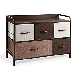 ROMOON Dresser Organizer with 5 Drawers