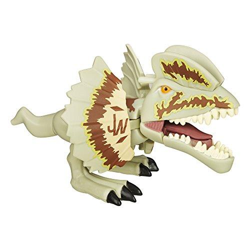 Jurásico Mundo Chompers Dilophosaurus Figura
