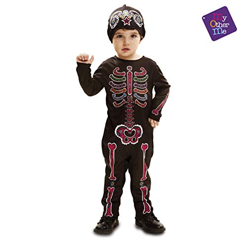 My Other Me - Día De Los Muertos Halloween Catrina Disfraz, Multicolor, 3-4 años, Fun Company 202246