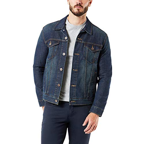 Signature by Levi Strauss & Co. Gold Label Men's Signature Trucker Jacket, Rebel, X-Large