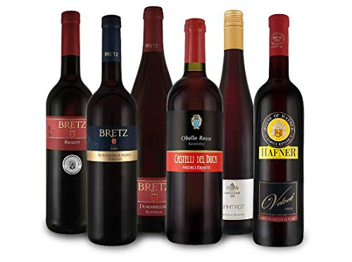 Unsere besten lieblich-süßen Rotweine im Probierpaket
