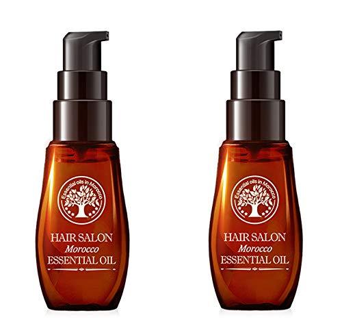Essential Moisturizing Hair Serum,Aceite Esencial Hidratante Para El Cuidado Del Cabello, Para Cabello Seco Quebradizo Rico En Humedad Que Promueve Un Cabello Sedoso y De Aspecto Saludable (2pcs)