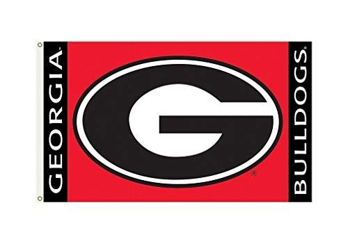 BSI NCAA College Georgia Bulldogs G Logo 3 X 5 Foot with Grommets