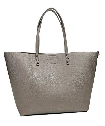 BCBGeneration WPZ604GN Dark Pewter Rendezvous Tote