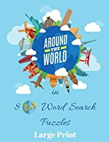 Around the World In 80 Word Search Puzzles