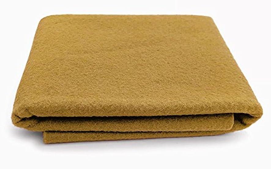 Honey Biscuit Brown - XXL Wool Felt Sheet - 100% Virgin Merino Wool - 36 in x 36 in