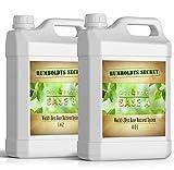 Humboldts Secret Base A & B Bundle – World's Best Base Nutrient System – Liquid Nutrient/Fertilizer for Indoor Plants – Supports Vegetative and Flowering Stages of Plants – Set of 2.5 Gallons