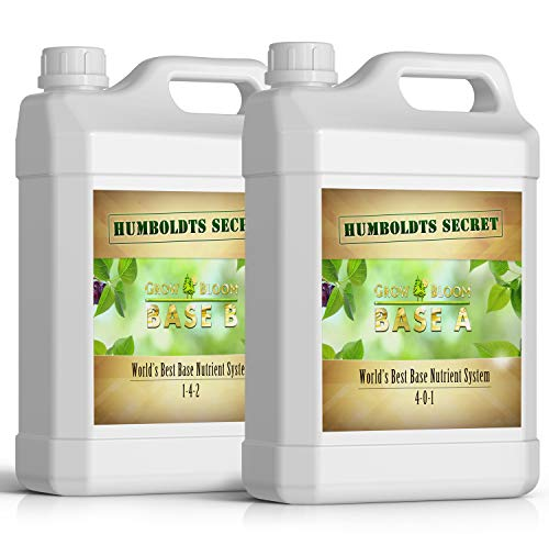 Humboldts Secret Base A & B Bundle – World's Best Base Nutrient System – Liquid...