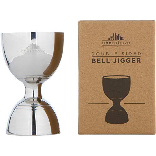 Vintage Double Cocktail Jigger, 1oz/2oz