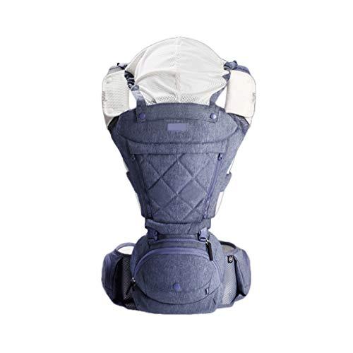 Porte-bébé Multifonction Bébé Respirant Assis sur la Taille Tabouret Amovible et indépendant pour l'été ( Color : B )