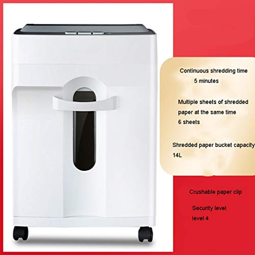 Check Out This TUCY Electric Paper Shredder, Silent Paper Shredder, Household File Shredder Granular...