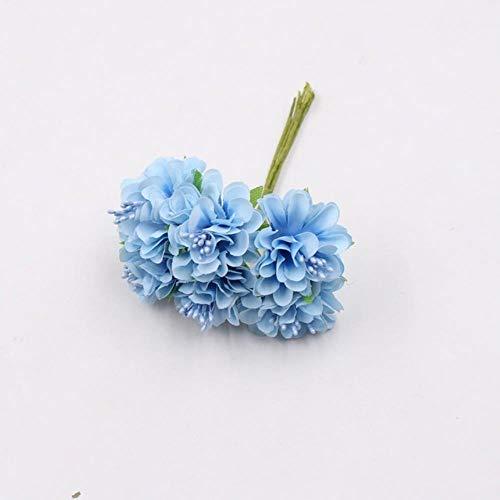 Erfhj Silk Daisy Stamens Chrysanthemum decoratie voor bruiloft, kunstbloemen, krans, schaar, decoratie bloemen
