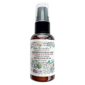 BOHO AROMATIC | Magnificent Hydrating Face Cream | Natural & Organic Day Cream | Face Moisturizer | Vegan | Made with…