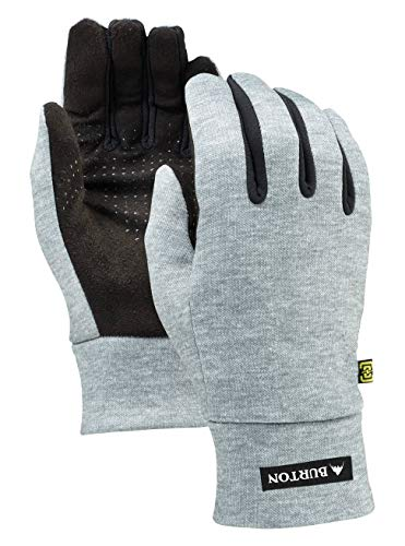 Burton Kids Wb Touch N Go Liner Gloves - Heathered Grey, L