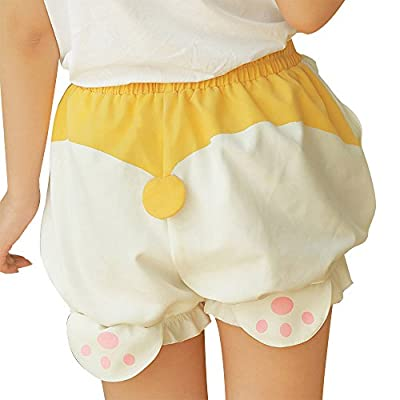 TOMORI Cute Bloomers Corgi Butt Pants Lolita Pajama Shorts Animal Loungewear Sleepwear