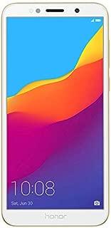 Honor 7S Dual SIM - 16GB, 2GB RAM, 4G LTE, Gold