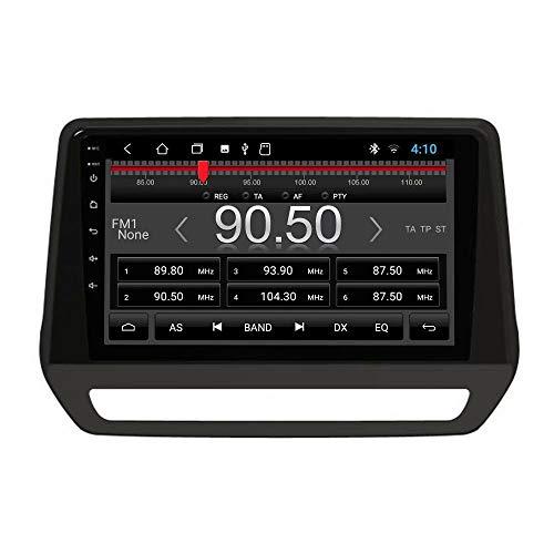 TOPNAVI Center Multimeida Universal Radio and Fascia Dash Installation Kit for Renault Triber 2019 2020 Android 10.0 Car Radio GPS