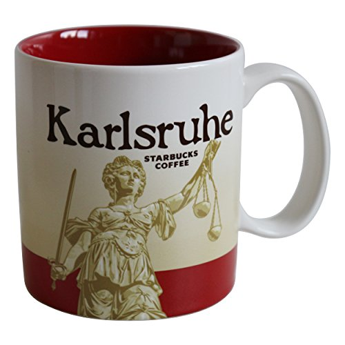 Starbucks City Mug Karlsruhe Germany Icon Serie Coffee Cup Karlsruhe