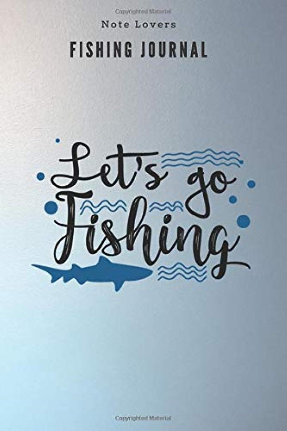 玉ラッチアーカイブLet's go fishing - Fishing Journal: Fishing Log Book | Perfect Gift For Gift for Fishing Lover