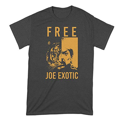 Free Joe Exotic Shirt Joe Exotic Tiger King T Shirt Joe Exotic for President Black