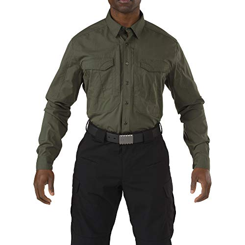 5.11 Tactical Series 511-72399 Chemise Homme, TDU Green, FR : 3XL (Taille Fabricant : XXXL)