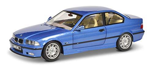 Solido 421185360 S1803901 BMW E36 Coupé M3, 1990, Modellauto, Maßstab 1:18, blau