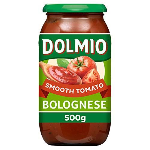 Dolmio Bolognese Smooth Tomato Pasta Sauce Jar, 500g